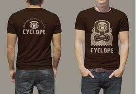 T-shirt logo Cyclope - BIRRIFICIO DELL'ETNA-GADGET