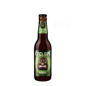 Birra artigianale CYCLOPE BIONDA - AMERICAN PALE ALE - <b>24 bottiglie - 33 cl</b> - BIRRIFICIO DELL'ETNA-LINEA CYCLOPE