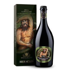 Birra artigianale HERACLES - BLONDE ALE con Pistacchio Verde di Bronte D.O.P. - <b>6 bottiglie in confezione regalo - 75 cl </b> - BIRRIFICIO DELL'ETNA-LINEA PREMIUM