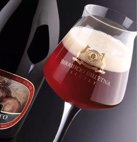 Birra artigianale EPHESTO - BELGIAN DUBBEL con nocciole dell'Etna - <b>12 bottiglie - 37,5 cl </b>- BIRRIFICIO DELL'ETNA-LINEA PREMIUM