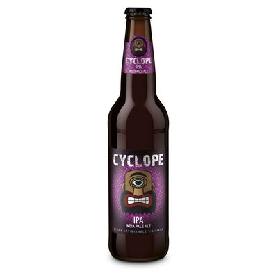 Birra artigianale CYCLOPE IPA - INDIA PALE ALE - <b>12 bottiglie - 50 cl</b> - BIRRIFICIO DELL'ETNA-LINEA CYCLOPE