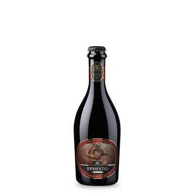 Birra artigianale EPHESTO - BELGIAN DUBBEL con nocciole dell'Etna - <b> 12 bottiglie - 37,5 cl </b>- BIRRIFICIO DELL'ETNA-LINEA PREMIUM